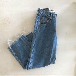 Levi's high-waisted Jeans